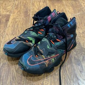 Nike Shoes   Colorful Nike Lebrons